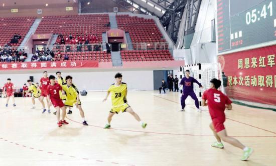世界青年男人手球锦标赛3月23日在淮安开赛