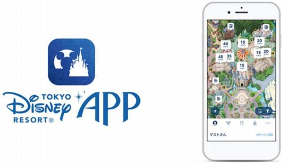 东京迪士尼将推出手机APP(来源:东京迪士尼网站)