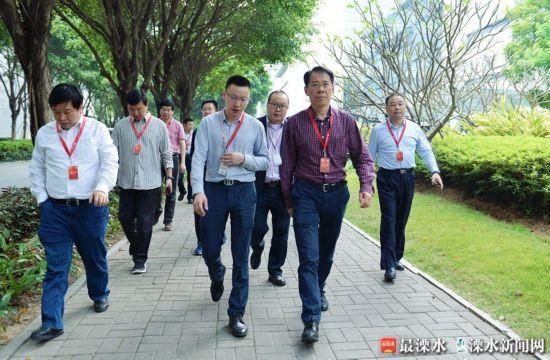 南京溧水区委书记谢元率团赴深圳东莞学习考察