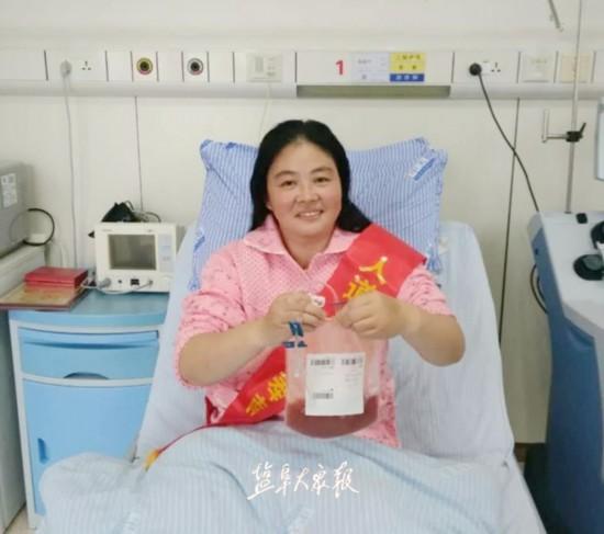 盐城女子捐献造血干细胞和淋巴细胞 当选江苏好人