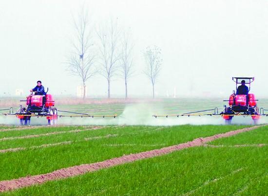 徐州沛县三大主要粮食作物已实现全程机械化