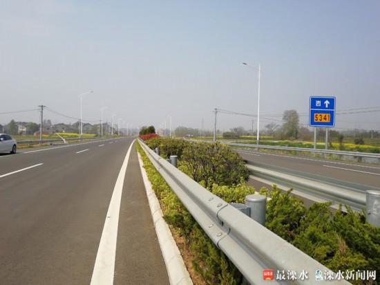 江苏341省道全线贯通 构建溧水南部交通动脉