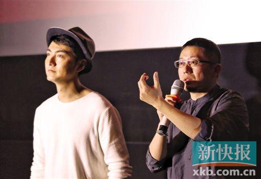 """《暴裂无声》路演导演忻钰坤对影片口碑""""很有自信"""""""