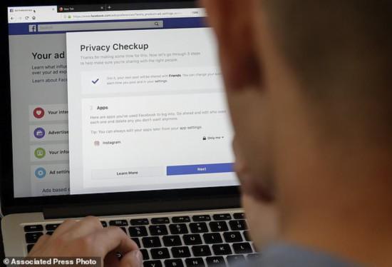 脸书将禁止第三方APP向用户投送目标广告