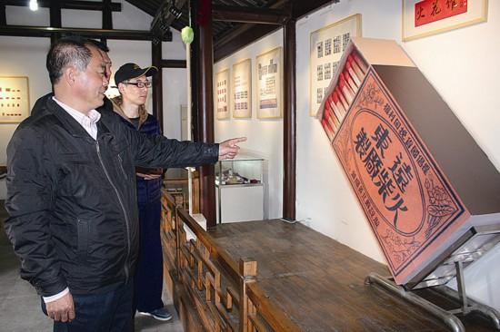 泰州火花艺术馆成古罗塘景区新景 受游客追捧