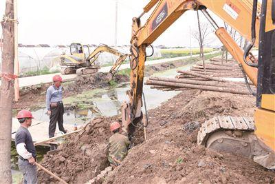南通海门中央财政小型农田水利重点县项目开工