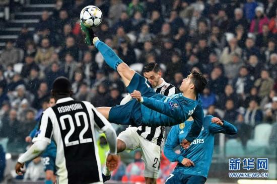 (体育)(1)足球――欧冠:C罗助皇马胜尤文