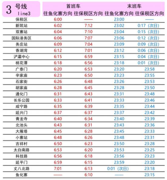 上海地铁二号线时刻_西安地铁4月9日起调整时刻表 二号线末班车23:50发--陕西频道--人民网