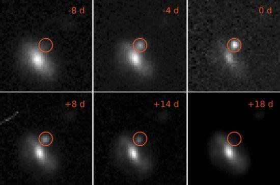 太空闪现神秘白光:超新星科学家仍然一头雾水