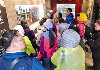 旅游专列直达 800多名青岛游客泰州深度游