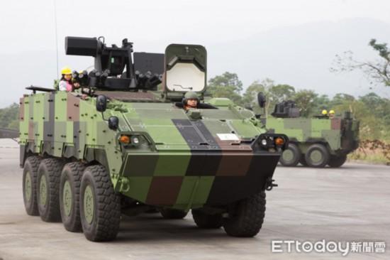 台湾云豹装甲车命运多舛 280辆建造案难产