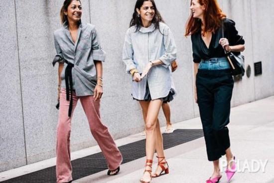 乡村风鱼嘴鞋、网眼鞋、塑胶鞋?这波春季美鞋趋势破除你的刻板印象