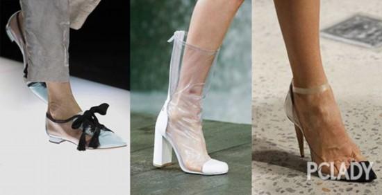 乡村风鱼嘴鞋、网眼鞋、塑胶鞋?这波春季美鞋趋势破除