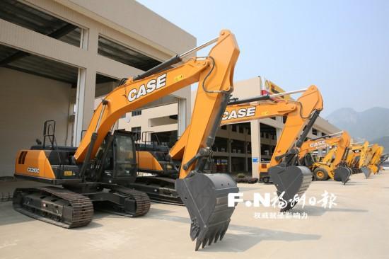福州最大工程机械物流园二期投用 配套设施6月前全部建成