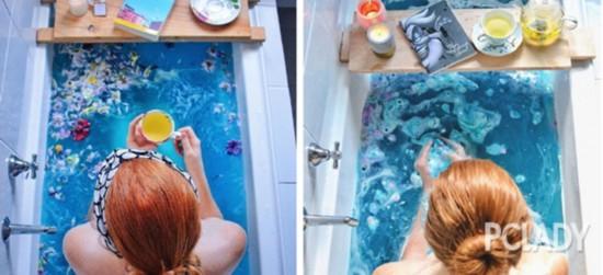 学会这些泡澡小技巧,你也可以泡出同款冰冰肌!