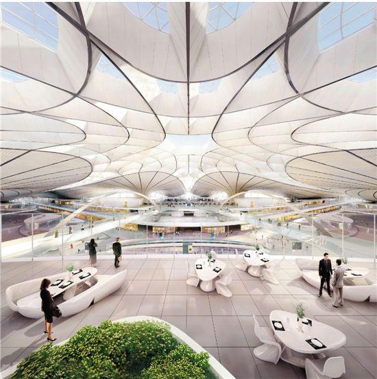 王中、中央美术学院城市设计学院团队 北京新机场公共艺术设计