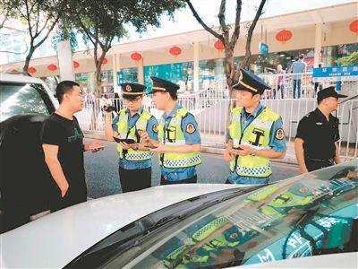 广州严查无证网约车