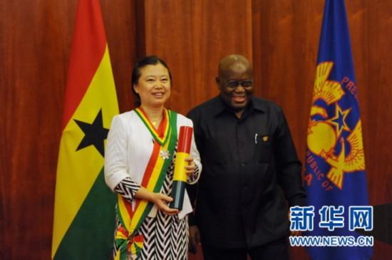 加纳总统阿库福-阿多:中加合作为加纳人民生活带来切实利