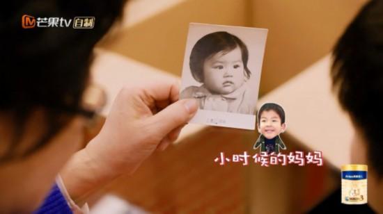 黄圣依童年照首度曝光 父亲日记揭秘女儿成长细节