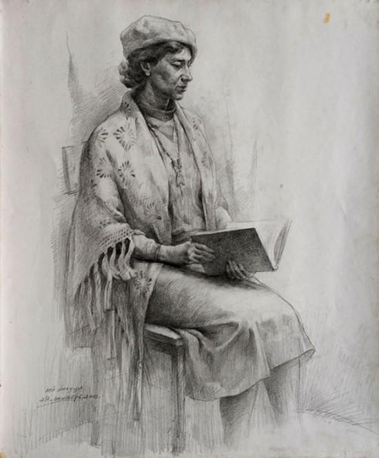 俄罗斯女士肖像 (肖像)  2004年