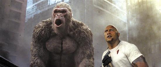 《狂暴巨兽》将映 怪兽片并不是简单地吓人