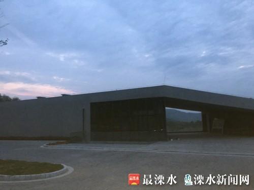 246省道游客中心即将建成运营 总投资约3100万