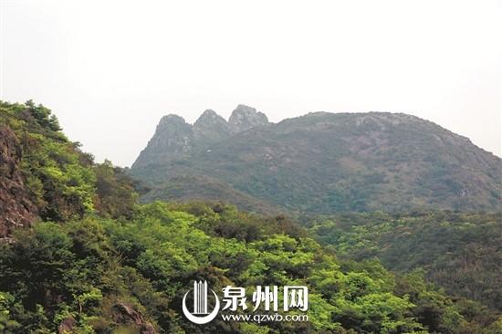 泉州泉港又出现卧佛奇观 这次躺在山里(图)
