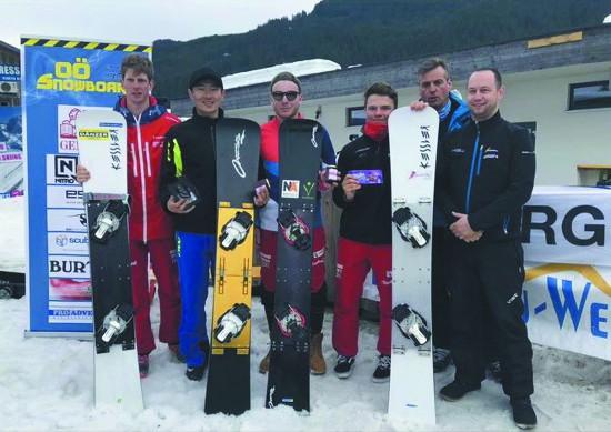 徐州沛县小伙孙欢夺单板滑雪国际赛事中国首金