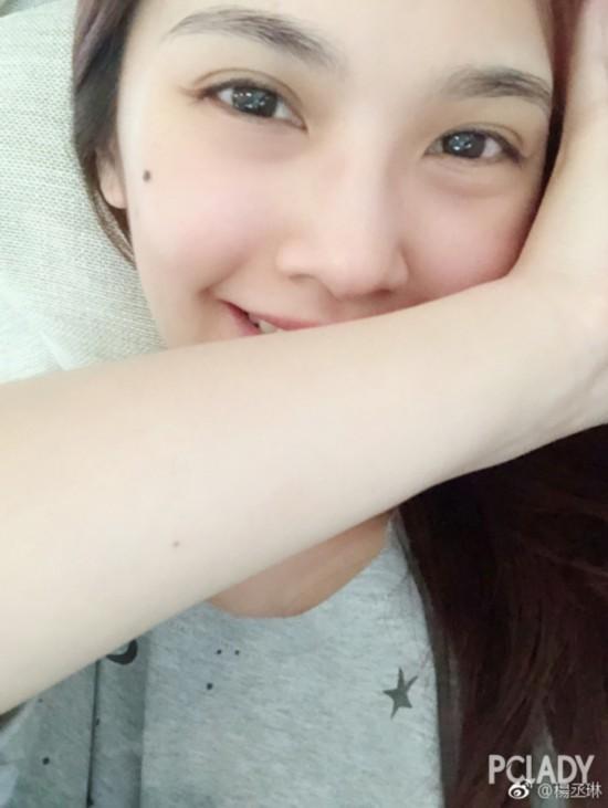 @林志颖欧式双眼皮、尖下巴的刘荷娜你认得不?