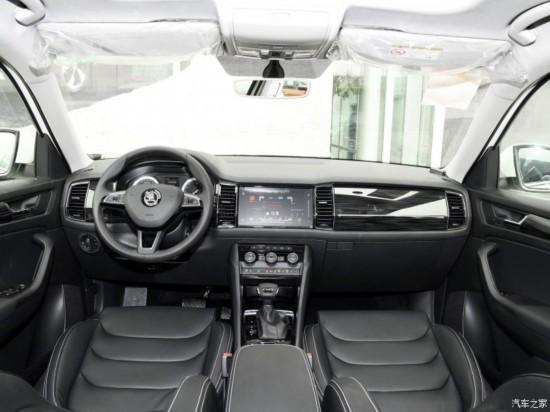 上汽斯柯达 柯迪亚克 2018款 改款 TSI330 7座两驱豪华优享版
