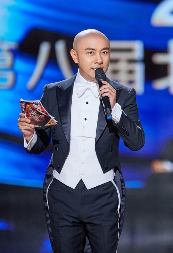 张卫健主持第八届北京国际电影节开幕式