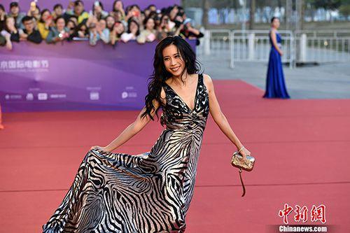 第八届北京国际电影节开幕 中外影人一起