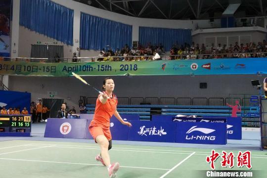 2018中国(陵水)国际羽毛球大师赛决赛李雪芮夺取复出首冠