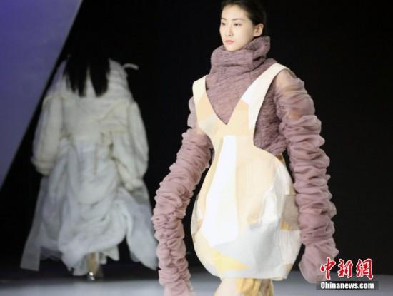 北京服装学院2018年开年大型时尚盛会举行