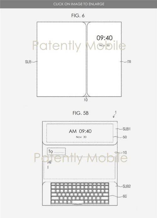 三星为可折叠平板电脑申请专利  机器长度和重量过大造成的不适感