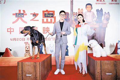 柏林电影节获奖影片《犬之岛》上映  朱亚文宋佳携手配音