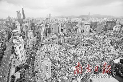 深圳城市建设用地已接近可建设用地总指标,优化产业空间势在必行.