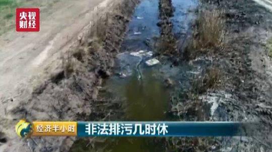 连云港灌云化工企业被曝非法排污:海水像酱油