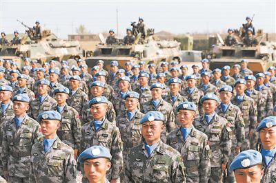 中国第6批赴马里维和部队正式组建