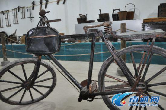 最老南通产自行车已届百岁高龄