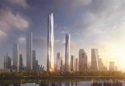 南京河西580米高楼规划出炉