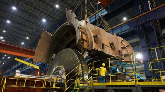 """""""华龙一号""""核电常规岛汽轮机主机设备研制完成"""