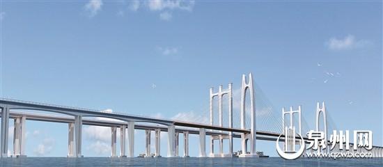 福厦高铁泉州湾跨海特大桥 首根大直径桩成功浇筑