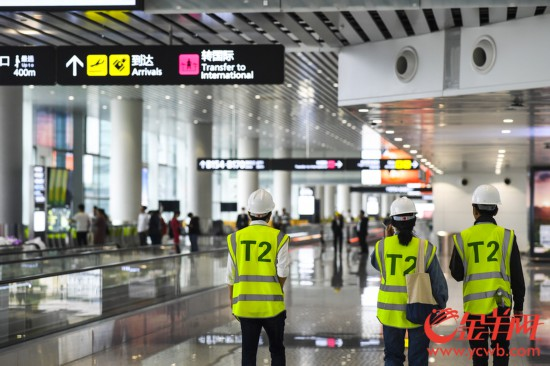 组图:探营广州白云机场T2航站楼