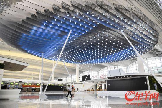 白云机场T2航站楼探营