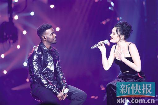 "Jessie J再次展现""歌王""风采"