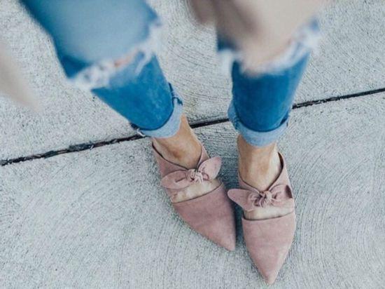 现在就送你一波美得令你心动的平底穆勒鞋!