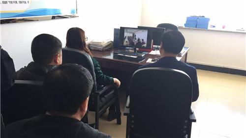 五大连池市观看国家组织《群众总体安全观》宣il2视频图片