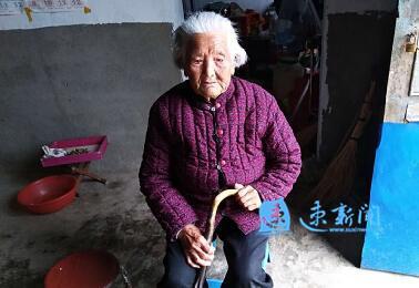宿迁这位110岁老太精神倍儿棒 最爱蔬菜煎饼大黍稀饭