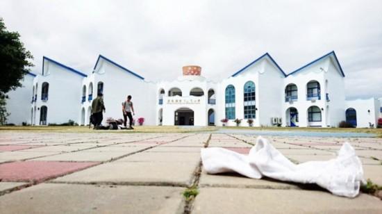 号称全台最美小学的台东市丰源小学。(图片来源:台湾《联合报》)